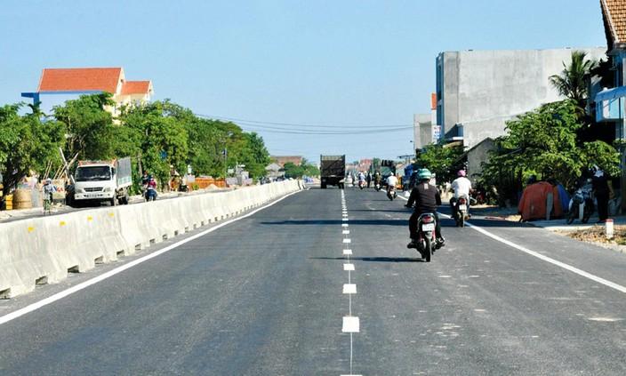 Dự án BOT mở rộng Quốc lộ 1 qua Quảng Ngãi: Chưa quyết toán vì Tổng công ty Thành An không góp vốn