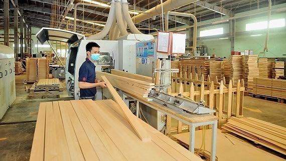 Xuất khẩu gỗ và sản phẩm gỗ sang Anh tăng 53,5% trong nửa đầu năm