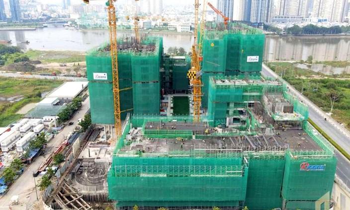 Chiếm phần lớn trong giá trị hàng tồn kho của Công ty CP Đầu tư hạ tầng kỹ thuật TP.HCM là các dự án bất động sản dở dang. Ảnh: Song Lê