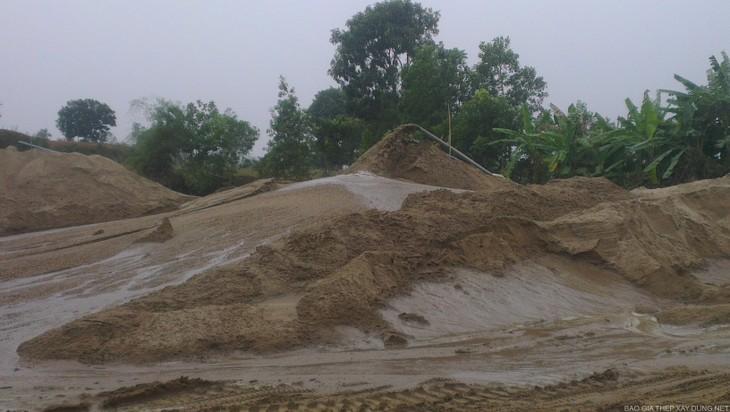 Nhà thầu phát hiện khu đất xây dựng hạ tầng KCN Tân Kiều đã san lấp trước khoảng 40% giá trị khối lượng công việc trong hồ sơ mời thầu (ảnh minh họa)