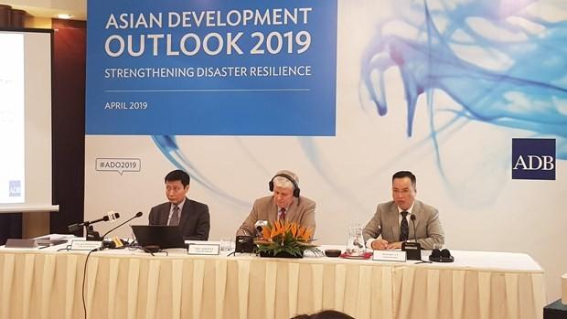 ADB dự báo tốc độ tăng trưởng Việt Nam năm 2019 là 6,8%