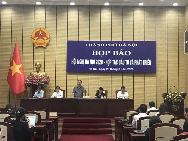 """Hà Nội tổ chức Hội nghị """"Hà Nội 2020 – Hợp tác Đầu tư và Phát triển"""""""