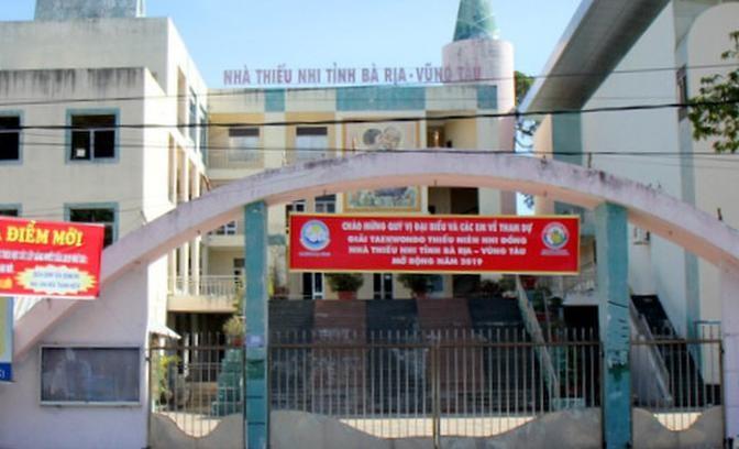 Nhà Thiếu nhi tỉnh Bà Rịa - Vũng Tàu là một trong 3 cơ sở nhà đất nằm trong khu đất vàng đang được bán đấu giá