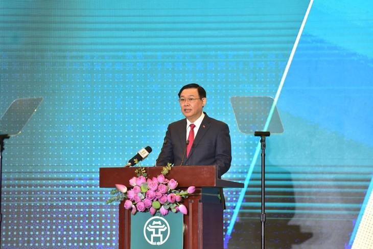 Bí thư Thành ủy Vương Đình Huệ phát biểu khai mạc Hội nghị