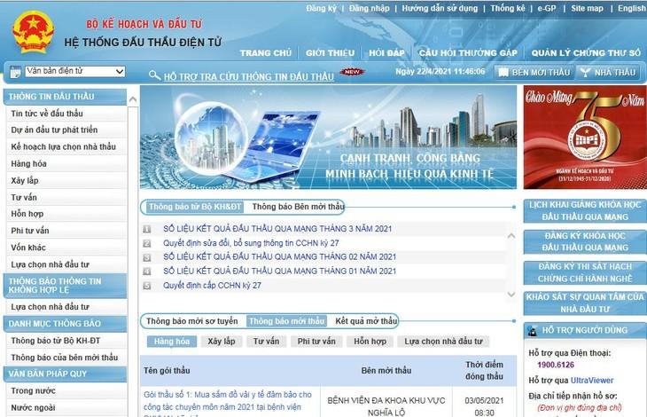 Công ty CP Phát triển nguồn mở Việt Nam thực hiện việc truy cập và quét dữ liệu trên Hệ thống mạng đấu thầu quốc gia, đăng tải lại theo cách thức không đầy đủ trên trang thông tin điện tử của Công ty phục vụ cho mục đích thu lợi từ việc bán dữ liệu cho các tổ chức cá nhân.