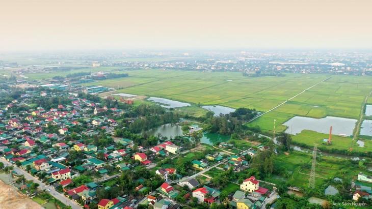 Một góc huyện Hưng Nguyên, Nghệ An