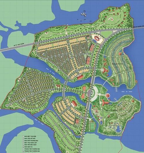 Phối cảnh Khu đô thị mới An Phú Thịnh - Quy Nhơn (ảnh internet)