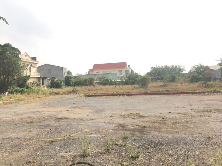 Mặt bằng khu đất để thực hiện Dự án Đầu tư xây dựng Khu phố thương mại Tân Biên (ảnh internet)