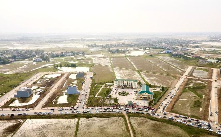 Bắc Ninh chuẩn bị bán đấu giá 74 lô đất tại huyện Thuận Thành