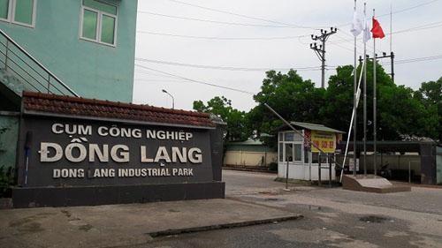 Phú Thọ bán đấu giá loạt nhà xưởng tại cụm công nghiệp Đồng Lạng