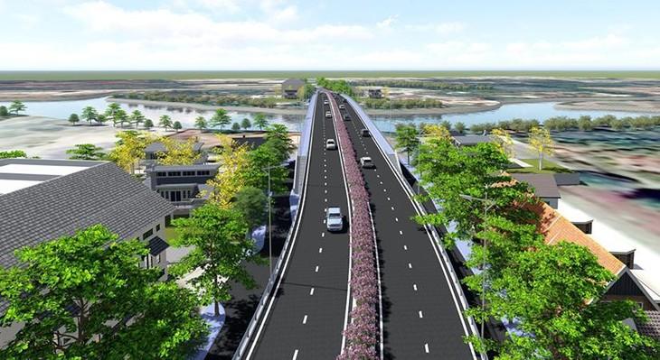 Phối cảnh đường cao tốc Tuyên Quang - Phú Thọ (ảnh internet)