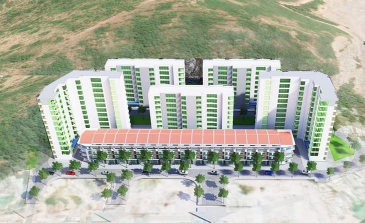 Dự án Khu nhà ở xã hội thuộc Khu vực 1, phường Đống Đa, TP. Quy Nhơn do Công ty TNHH Đầu tư xây dựng Phú Mỹ - Quy Nhơn làm chủ đầu tư