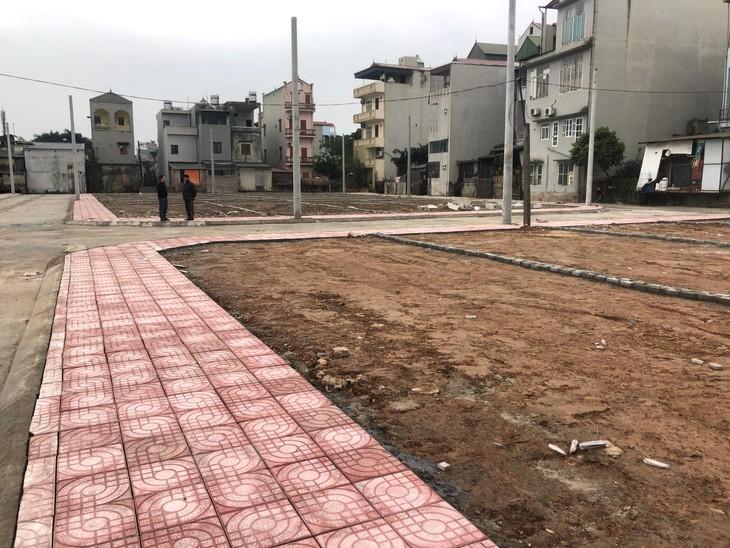 Đấu giá 56 ô đất nhỏ lẻ tại Đông Triều
