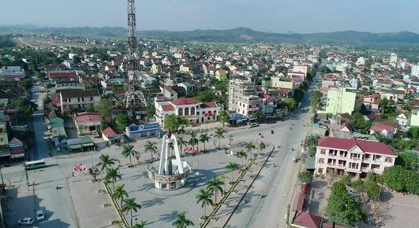 Một góc thị trấn Đô Lương, Nghệ An (ảnh internet)