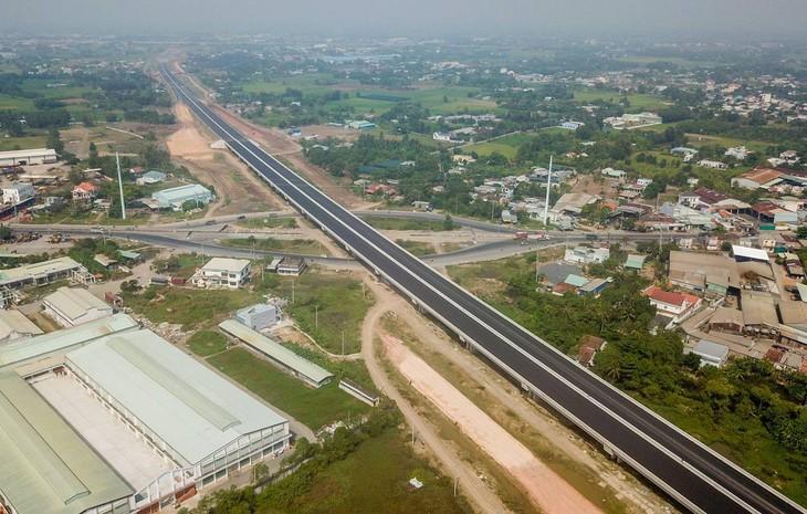 Dự án đường cao tốc Bến Lức - Long Thành đình trệ từ năm 2019 đến nay. Nguồn: Internet