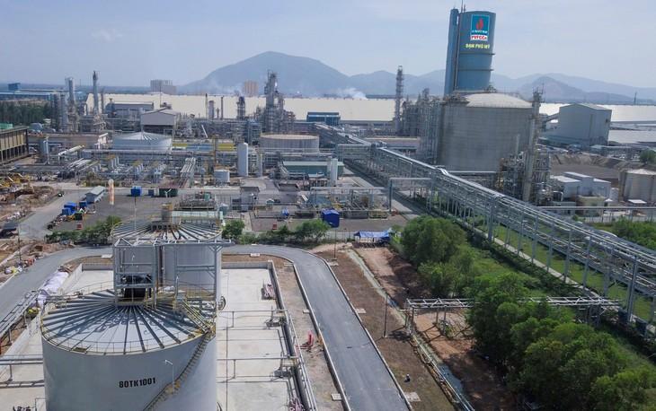 Nhà máy Đạm Phú Mỹ đang trong thời gian bảo dưỡng định kỳ. Ảnh: PVFCCo