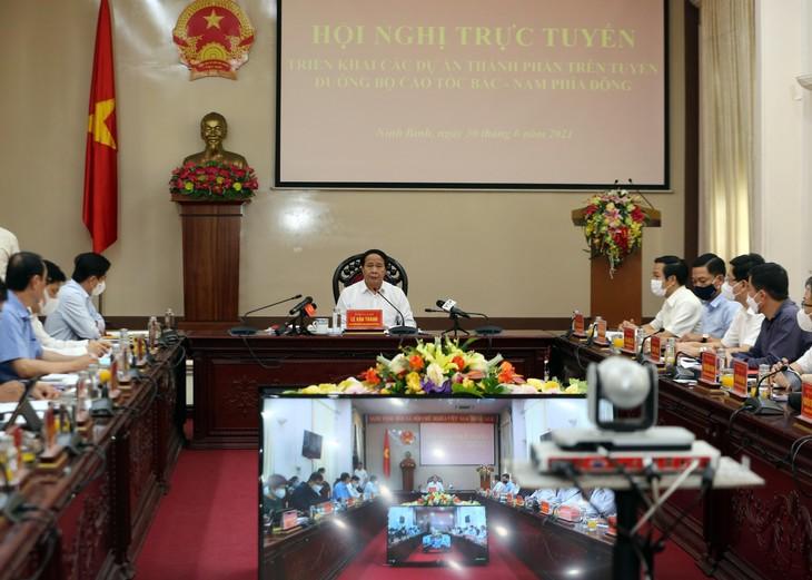 Phó Thủ tướng Lê Văn Thành chủ trì Hội nghị. Ảnh: VGP