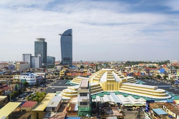 Trong quý I/2019, Việt Nam đã đầu tư sang 18 quốc gia, vùng lãnh thổ, trong đó Campuchia xếp thứ 2 với tổng vốn cấp mới và tăng thêm là 37,9 triệu USD, chiếm 31,5% tổng vốn đầu tư. Ảnh Internet