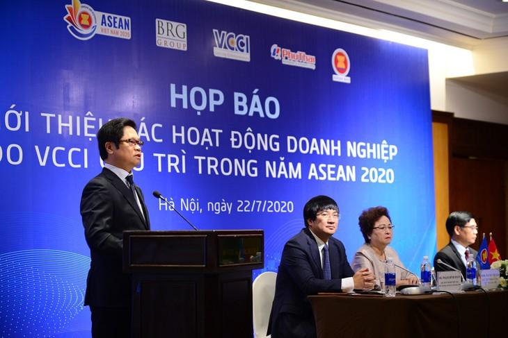 Năm 2020, VCCI giữ vai trò Chủ tịch Hội đồng Tư vấn kinh doanh ASEAN (ASEAN BAC)