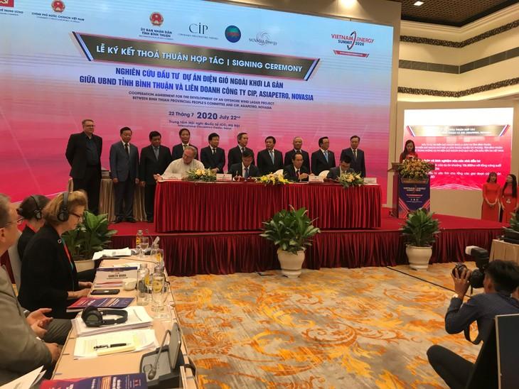 Lễ ký kết diễn ra tại Diễn đàn cấp cao về năng lượng Việt Nam năm 2020