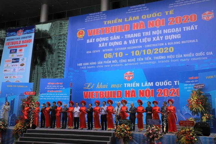 1.400 gian hàng tham dự Vietbuild Hà Nội 2020