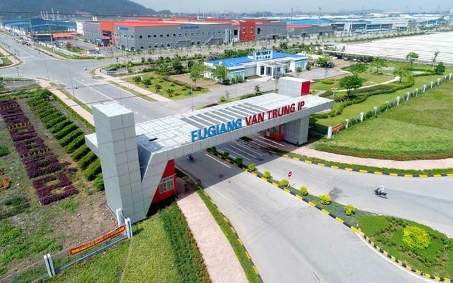 Khu công nghiệp Vân Trung là 1 trong 4 khu công nghiệp trên địa bàn tỉnh Bắc Giang phải tạm dừng hoạt động để phòng chống Covid-19 lây lan
