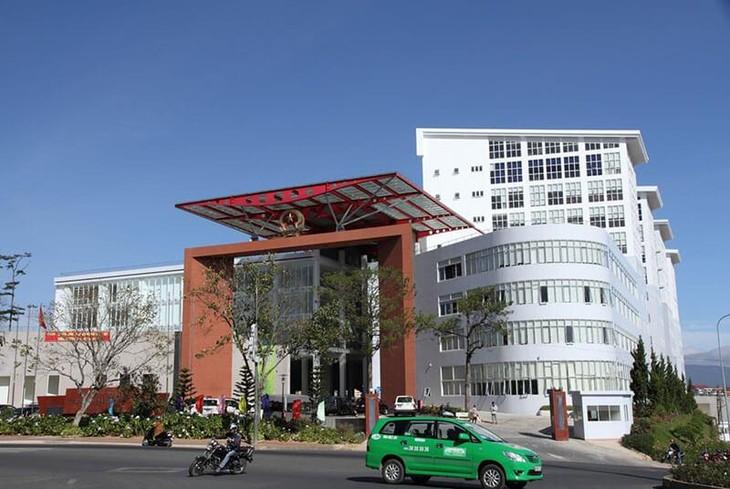 Gói thầu số 06 - Thi công xây dựng đường vành đai thành phố Đà Lạt được đóng/mở thầu tại Trung tâm Hành chính công tỉnh Lâm Đồng - ảnh internet