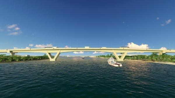 Theo kế hoạch, Dự án đầu tư xây dựng cầu Quang Thanh và cầu Dinh sẽ được khởi công vào ngày 16/5 tới. Ảnh minh họa: Internet