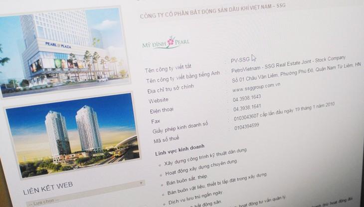 Đấu giá cổ phần Công ty Cổ phần Bất động sản Dầu khí Việt Nam