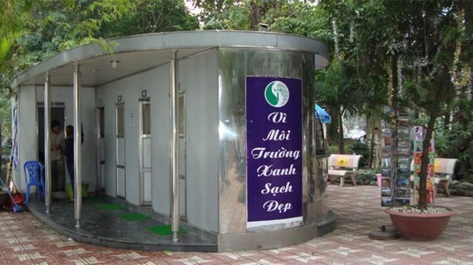 Một nhà vệ sinh công cộng ở Hà Nội. Ảnh minh họa