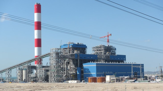 Nhà máy Nhiệt điện Vĩnh Tân 4. Ảnh: Internet