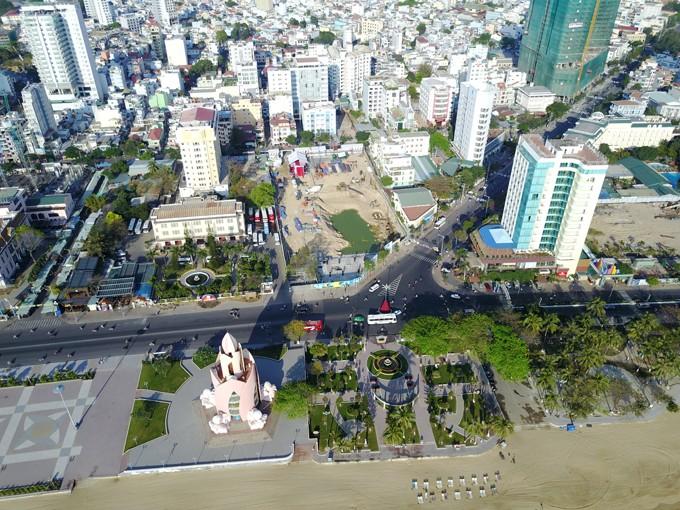 Toàn cảnh vị trí dự án A&B Central Square.