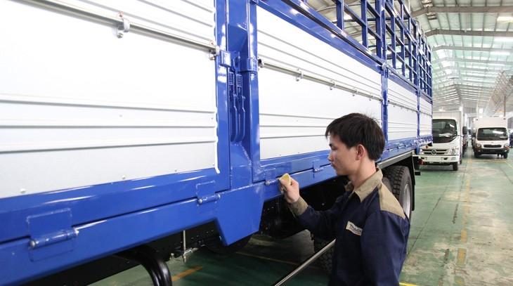 Công ty CP ô tô Trường Hải nằm trong những doanh nghiệp tư nhân lọt vào Bảng xếp hạng thịnh vượng nhất Việt Nam năm 2017. Ảnh: Tường Lâm