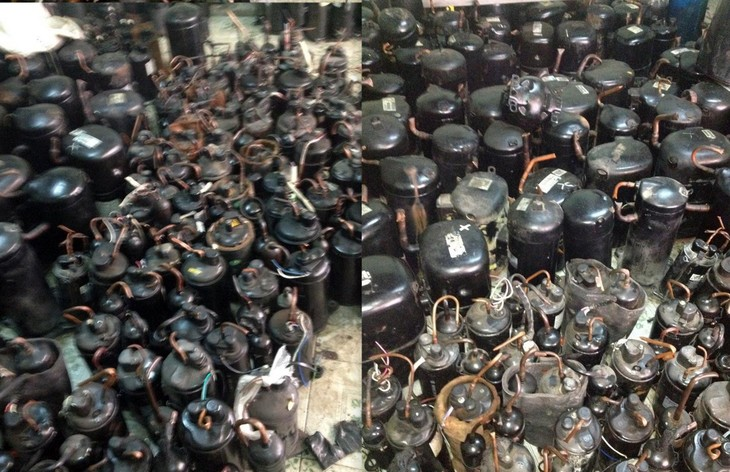 Đấu giá vật tư, công cụ dụng cụ đã qua sử dụng thanh lý tại Bắc Ninh