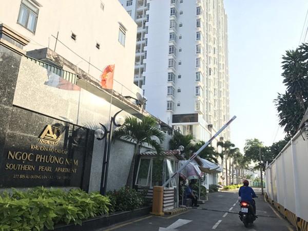 TP.HCM: Kêu gọi các hộ dân ra khỏi Chung cư Viên Ngọc Phương Nam để tránh rủi ro