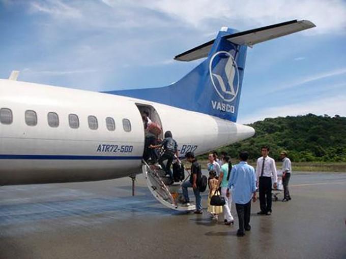 Vietnam Airlines chuyển giao VASCO khai thác đường bay Hà Nội - Đồng Hới. Ảnh: VASCO