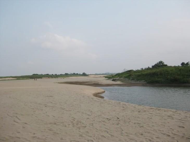 Hà Nội: Duyệt giá đất với dự án khai thác mỏ cát tại bãi nổi sông Hồng