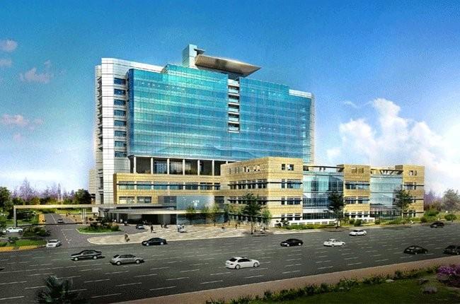 Phối cảnh Bệnh viện chấn thương chỉnh hình mới.