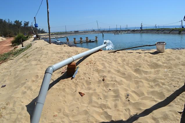 Nguồn nước ngầm tại Đà Nẵng đang có nguy cơ suy giảm và ô nhiễm do khai thác quá mức. Ảnh: VGP