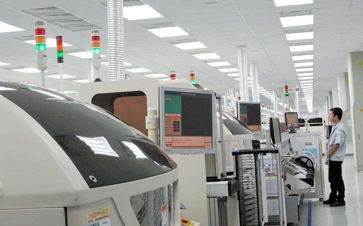 Lĩnh vực hấp dẫn nhà đầu tư FDI tại Bắc Ninh chủ yếu là lĩnh vực điện tử, công nghệ thông tin... Ảnh: Tường Lâm