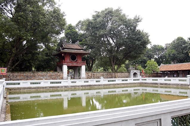 UBND thành phố Hà Nội chủ trì lập Quy hoạch tổng thể bảo tồn và phát huy giá trị lịch sử và kiến trúc nghệ thuật quốc gia đặc biệt Văn Miếu - Quốc Tử Giám. Ảnh: Tường Lâm