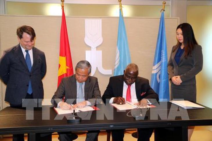 Việt Nam và Quỹ Phát triển Nông nghiệp Quốc tế (IFAD) đã ký thỏa thuận về vay vốn. Ảnh: Ngự Bình/TTXVN