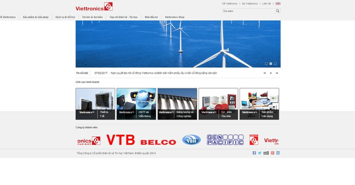 Đấu giá cổ phần của Tổng Công ty Cổ phần Điện tử và Tin học Việt Nam