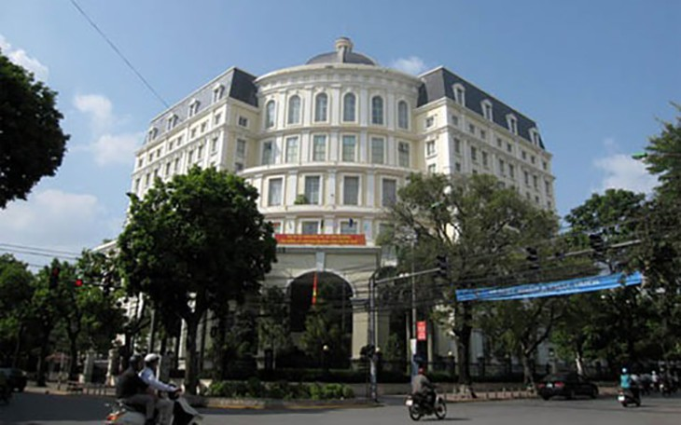 Trụ sở Bộ Tài chính tại Hà Nội. Năm 2017, tổng thu ngân sách theo kế hoạch là 1,21 triệu tỷ đồng.
