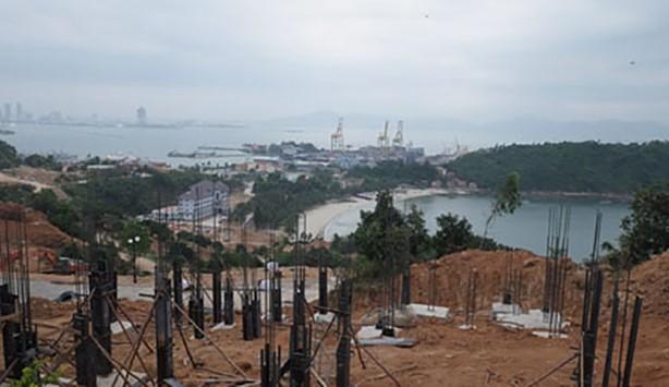 40 móng nền biệt thự tại sườn Đông bán đảo Sơn Trà của Công ty cổ phần Biển Tiên Sa