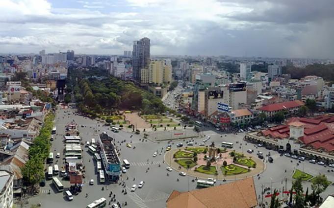 UBND Tp.HCM đồng ý nghiên cứu dự án thu phí xe ôtô vào trung tâm thành phố - Ảnh: SHS.