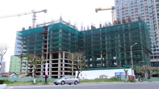 Công trình xây dựng 10 tầng không phép