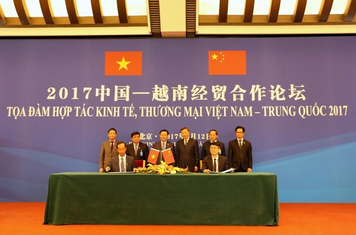 Vinamilk ký kết bản ghi nhớ hợp tác cung cấp sản phẩm sữa vào thị trường Trung Quốc