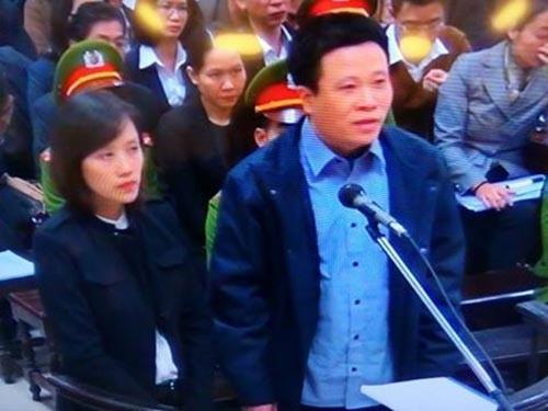 Bị cáo Hà Văn Thắm tại phiên tòa cuối tháng 2/2017