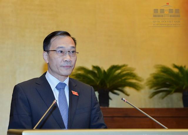 Ông Vũ Hồng Thanh, Chủ nhiệm Ủy ban Kinh tế của Quốc hội (ảnh: Quochoi.vn)